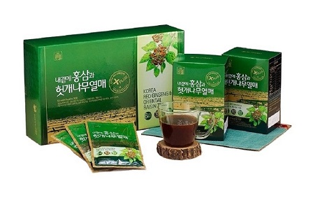 Nước Bổ Gan Hồng Sâm Korea Red Ginseng & Oriental Raisin Tree