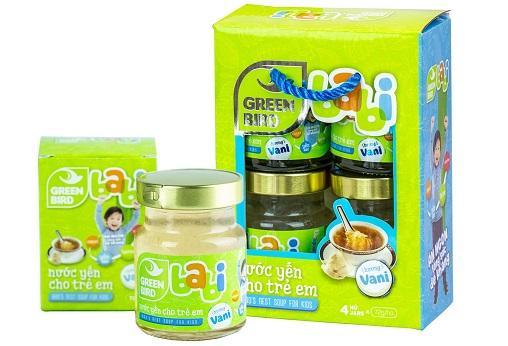 Nước Yến Green Babi dành cho trẻ em – Nutri