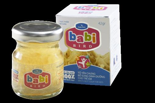 Nước yến dành cho trẻ em Babi Bird – 42gr  - Nutri