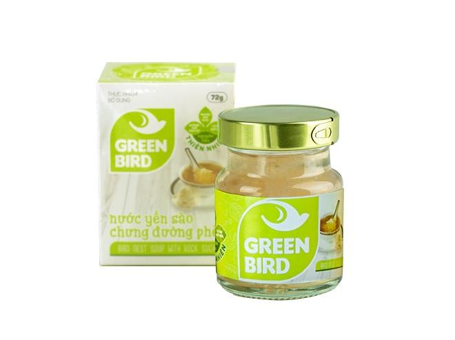 Nước Yến Green Bird hũ đơn– Nutri