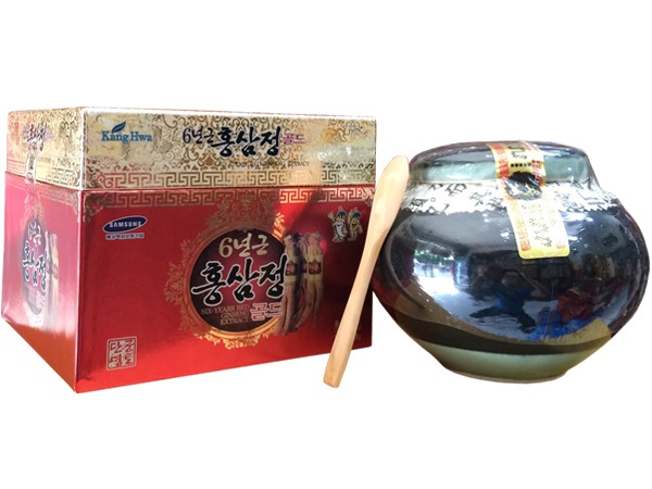 Cao hồng sâm KangHwa 6 năm tuổi hũ sứ 1kg - Nutri