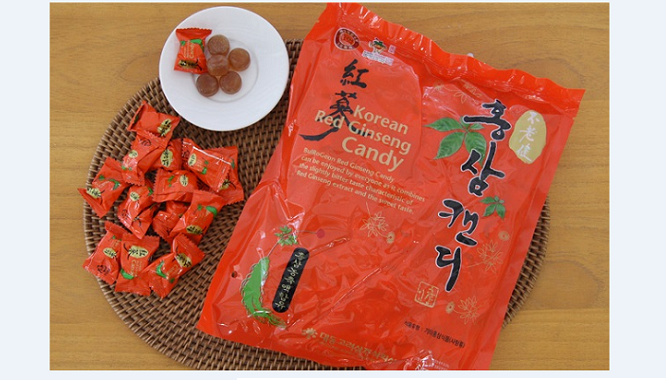 Kẹo Hồng Sâm gói 500g – Nutri
