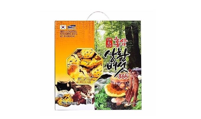 Nước Hồng Sâm Nấm Thượng Hoàng 365 BIO NATURAL - Nutri