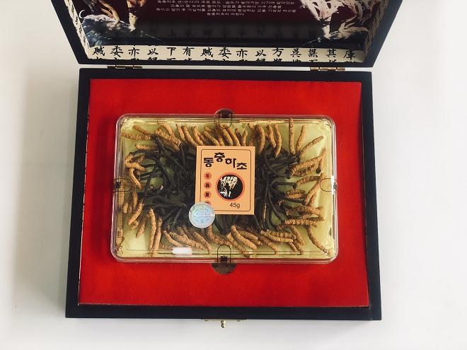 Đông Trùng Hạ Thảo nuôi nguyên con hộp 45gr - Nutri