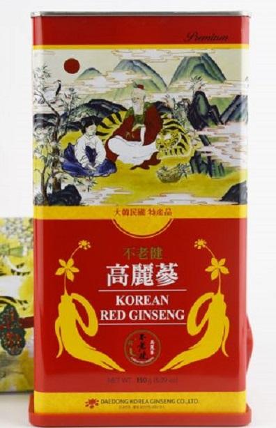 Hồng sâm củ khô Hàn Quốc 6 năm 150gr  – Nutri.vn