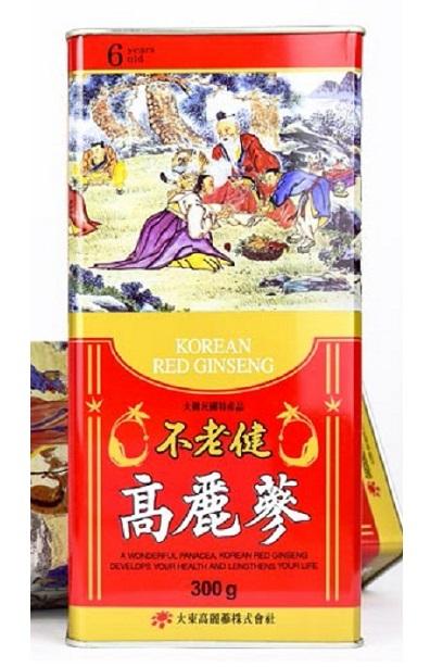 Hồng sâm củ khô Hàn Quốc 6 năm 300gr  – Nutri.vn