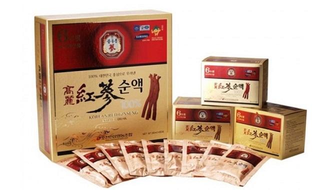 Nước Tinh Chất Hồng sâm Hàn Quốc 6 năm tuổi Pocheon - Nutri