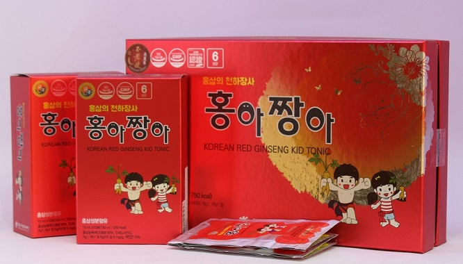 Hồng Sâm Trẻ Em Kid Tonic 450ml - Nutri