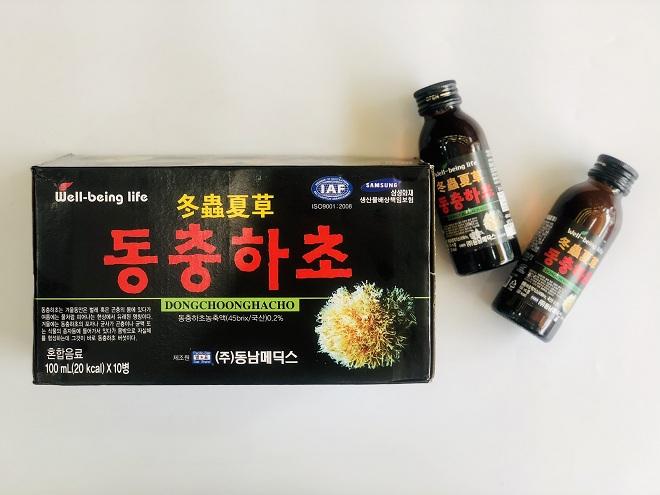 Nước giải khát Đông Trùng Hạ Thảo Hàn Quốc - Nutri