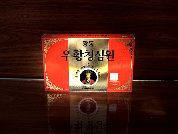 An cung ngưu hoàng hoàn Hàn quốc Vũ Hoàng Thanh Tâm – Nutri