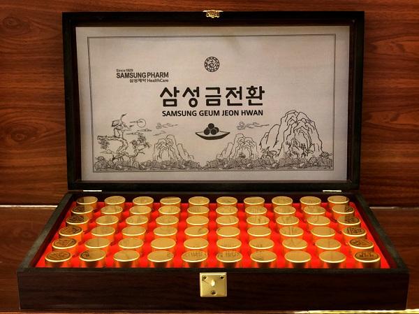 Geum Jeon Hwan Bổ não cao cấp hộp 60 viên - Nutri